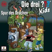 DIE DREI ??? KIDS - 058: SPUR DES DRACHEN   CD NEU