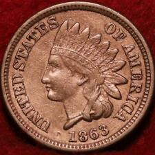 1863 Philadelphia Mint Indian Head Cent