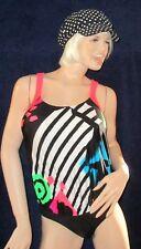 sexy Lycra Glanz Badeanzug, Body, schimmernd, Gr. 38, Swim-Suit, Solar Body