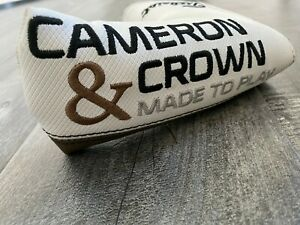 *RARE* Scotty Cameron & Crown Newport Blade Putter Headcover Cover Titleist