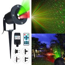 Waterproof Outdoor Landscape Laser Projector light Moving Star Xmas Stage Light