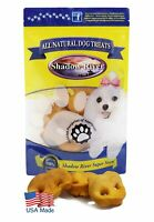 Shadow River USA Pig Snouts Chews Treats for Dogs - 6 Pack Regular Pork Noses