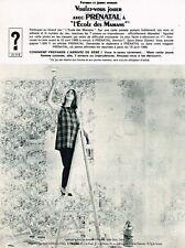 J- Publicité Advertising 1965 Les Vetements de grossesse Prenatal