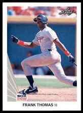 1990 Leaf Frank Thomas RC White Sox #300 Nm-Mt