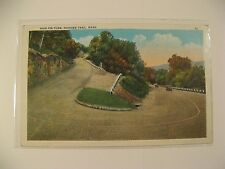 ANTIQUE POST CARD OF HAIR PIN TURN, MOHAWK TRAIL, MASS./GOOD COND/COLLECTIBLE.