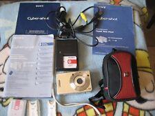 Sony Cyber-shot DSC-W50 6.0MP Digital Camera - Silver (BUNDLE)