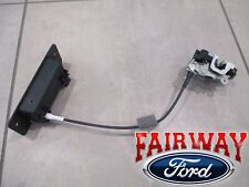 92 thru 18 Econoline E150 E250 E350 OEM Ford Back Rear LH Door Latch w/ Handle