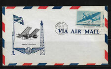 Us 1941 Air mail 30c Cachet Cover ,Very Fine !