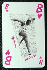 1 x playing card London 2012 Olympic Legends Kip Keino Athletics 8H