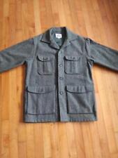 vtg woolrich wool jacket shirt size mens 40 hunting ? green