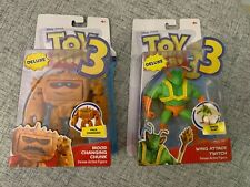 RARE Toy Story 3 Chunk and Twitch Deluxe Action Figures