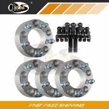 "For Jeep Commander 2010 2"" 5x5 to 5x5 1/2"" wheel spacers 23Pcs Lug Nuts W/2 Keys"