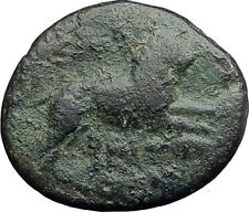 LYSIMACHOS 323BC Authentic Ancient Greek Coin ALEXANDER the GREAT & LION i62637