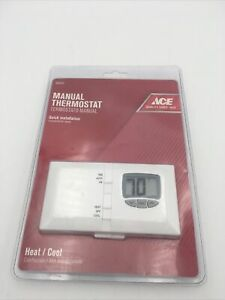 Ace 24 Volt Non Programmable Thermostat Heating Cooling Model 4164737