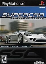 Supercar Street Challenge PlayStation 2 PS2 Tested!!
