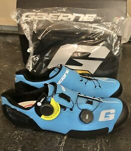 Gaerne Carbon G.SNX MTB Shoes Size 43 US 9 Tiger Drako XC9 Recon Empire