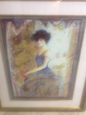 "JANET TREBY ""BLUE DRESS"" 