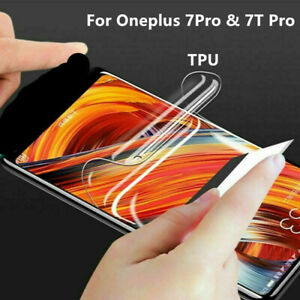 For Oneplus 7Pro & 7T Pro Full Curved TPU Soft Clear Screen Protector Film