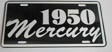 1950 MERCURY METAL LICENSE PLATE MERC MONTEREY MONTCLAIR WAGON CONVERTIBLE 50'S