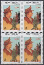 Specimen, Montserrat Sc948 Block, 20th Century Royalty, Wilhelmina (1880-1962)
