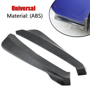 Anti-scratch Rear Shovel Car Universal Bumper Splitter Spoiler Protector Winglet