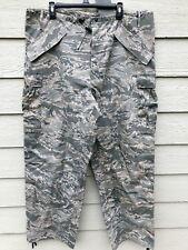 GENUINE USAF APECS ABU GORE TEX TIGER STRIPE ALL PURPOSE PANTS - LARGE LONG