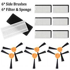 18pcs Side Brushes + Filter Kit + Sponge Set For Eufy RoboVac 11 Robotic Vacuum