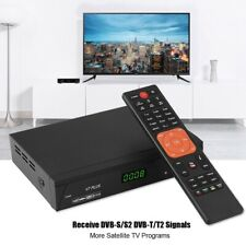 Ricevitore TV SAT Decoder Satellitare DVB-S S2 DVB-T T2 1080p HD PVR Digitale