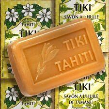 MONOI Tiki Tahiti Savon Tamanu sapone 130g olio vegetale-Sapone con tamanuöl