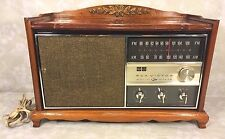 Vintage RCA Victor AM/FM Radio Wood Cabinet Operates Model RHC45F