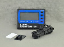 A803 Fridge Freezer thermometer 2 sensors ºC ºF ± 1ºC  3m cable min max UK ship