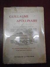 Collectif Apollinaire Souvenirs & témoignages inéditsAlbert-Birot Cadou Decaunes