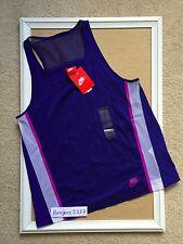 Nike Women Bonded Shirts Blue 726023-455  Size M
