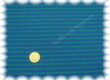Campan Baumwoll Jersey Hilco royalblau grün 50 cm Streifenstoff Streifenjersey
