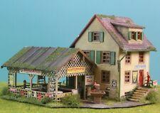 Diorama H0/1:87# Pension Bären Gasthaus Patiniert #Modellbau AUS POTSDAM