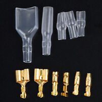 50X 4.0mm Japanese Bullet Connectors Female Either-OR Male with Insulated Sleeve