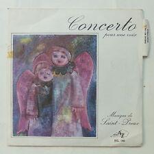 SAINT PREUX Concerto pour une voix  AZ SG 140