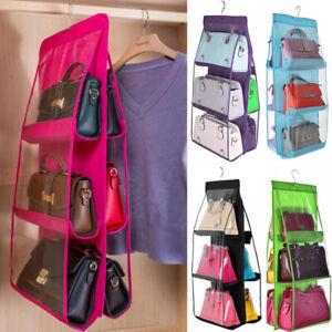 Hängende Handtasche Organizer, 6 Taschen Regal Tasche Aufbewahrungshalter