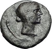 Menainon in Sicily 3-2CenBC Demeter Torches RARE R1 Ancient Greek Coin i58792