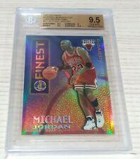 1995-96 Finest Mystery Borderless Gold Refractor Michael Jordan BGS 9.5 GEM MINT