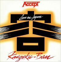 ACCEPT Kaizoku-Ban 1985  UK vinyl LP EXCELLENT CONDITION Live