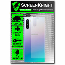 ScreenKnight Samsung Galaxy Note 10 - BACK PROTECTOR - CURVED FIT