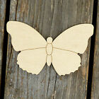 10x Wooden Simple Butterfly Style C Craft Shapes 3mm Plywood Insect and Wildlife