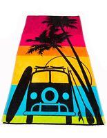 Beach Towel  Extra Large Luxury Holiday Velour 100% Egyptian Cotton *NEW*