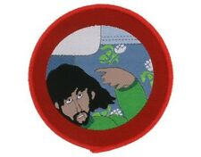 BEATLES yellow submarine - george 2008  circular WOVEN SEW ON PATCH official