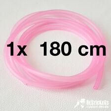 Tubo sfiato rosa per carburatore Keihin HONDA CR pink hose breather vent pj pwk