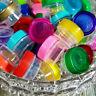 50 USA .25oz Plastic Containers Beauty Makeup Eyeshadow New Jars 1tsp Decojars