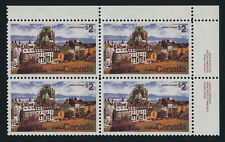 Canada 601 TR Block Plate 2 MNH Quebec City, Architecture
