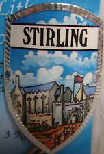 Scotland Stirling new badge mount stocknagel hiking medallion G9765