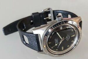 Kalos Diver Squale  Automatic 20 Atmos Professional Vintage Sub Watch Felsa 4007